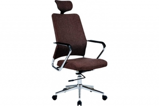 Кресло Finos темно-коричневый