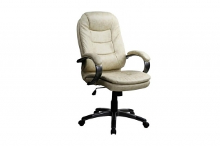 Кресло Harry (Кожа натуральная),беж.черн.