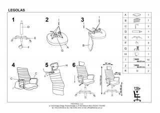 Кресло LEGOLAS HALMAR
