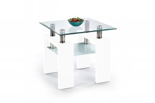 Журнальный столик Diana H kwadrat белый