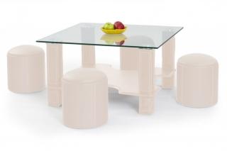 Журнальный столик Megan кремовый