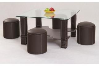 Журнальный столик Megan тёмно-коричневый