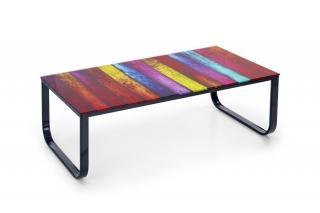 Журнальный столик Pandora разноцветный Halmar