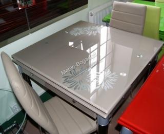 Стол стеклянный раскладной Signal GD-082 фиолетовый