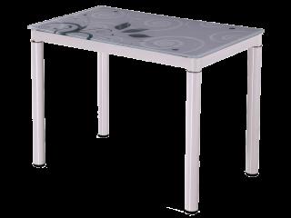 Стол стеклянный Signal Damar 100X60 белый