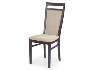 DAMIAN стул HALMAR темный орех- TORENT BEIGE