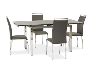 Раскладной стол Signal GD-017 серый