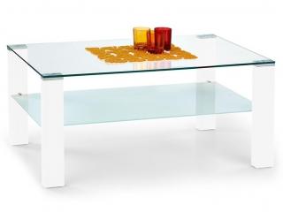 SIMPLE столик белый HALMAR