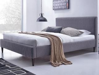 Кровать HALMAR FLEXY Серая