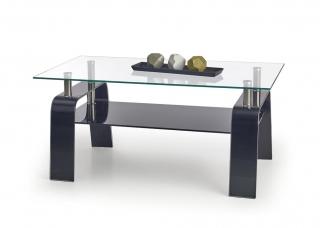Журнальный столик Naomi прозрачный Halmar