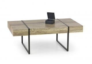 Журнальный столик Halmar TIFFANY черный-бетон