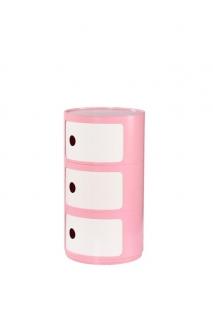 Детский комод ALF розовый