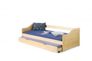 Кровать Halmar LAURA 90х200 Сосна