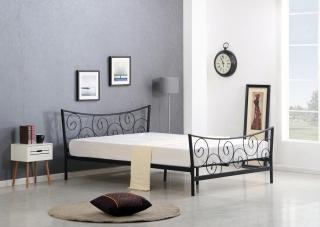 Двуспальная кровать RAMONA HALMAR черный