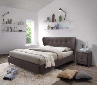 Кровать Halmar Viena 180-200 Коричневый