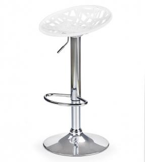 H-56 барный стул HALMAR белый серый