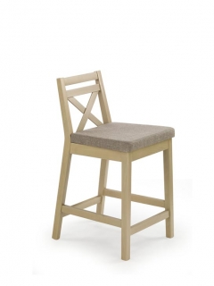 BORYS LOW  дуб барный стул HALMAR