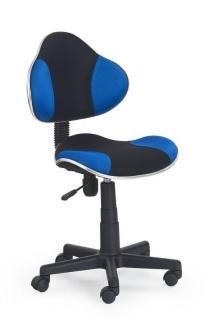 Кресло детское FLASH Halmar Черно-синий