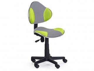 Кресло детское FLASH-2 Halmar Серо-оранжевый