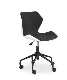 Кресло детское MATRIX HALMAR Бело-серый
