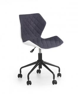Кресло детское MATRIX HALMAR Черный Бирюзовый
