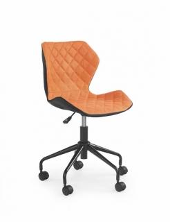 Кресло детское MATRIX HALMAR Черный Зеленый