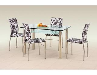 Стеклянный стол Olivier