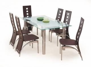 Стеклянный стол Bond