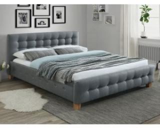 Новинка!Кровать Signal Barcelona 160х200 серый