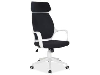 Кресло офисное Signal Q-188 черный белый