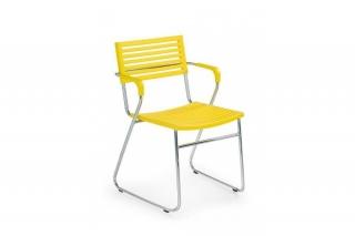 Стул K156 жёлтый