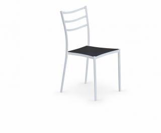 Стул K159 черно-белый