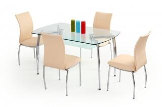 Стеклянный стол Albert
