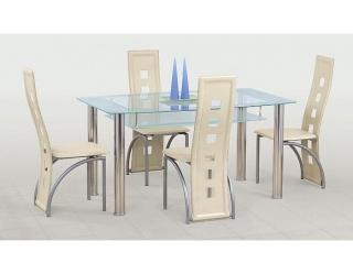 Стеклянный стол Cristal