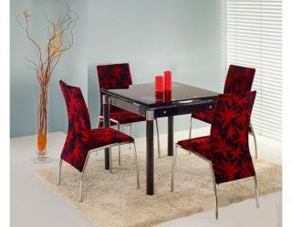 Стеклянный стол Kent чёрный