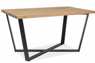 Стол обеденный Signal Marcello 150x90 дуб черный