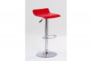 Барный стул H-1 красный