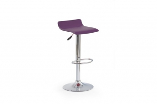 Барный стул H-1 фиолетовый