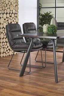 Обеденный стол FIRMINO HALMAR 180-90-76 cm темный орех