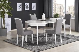 Обеденный стол раскладной Halmar SORBUS 100-200-100-77 см Белый