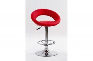 Барный стул H-15 красный