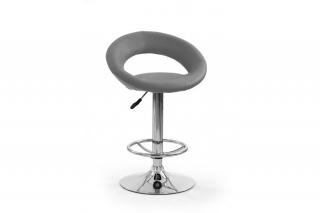 Барный стул H-15 серый