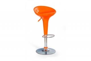 Барный стул H-17 оранжевый
