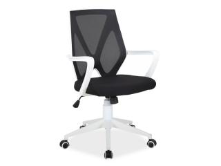 Новинка!Кресло офисное Signal Q-258 черный белый