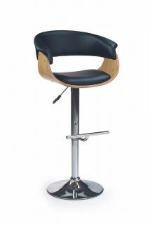 Барный стул H-45 черный