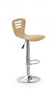 Барный стул H-6 светлый дуб