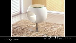 Журнальный столик Donna белый