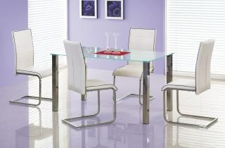 Стеклянный стол Zeus