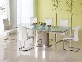 Стол раздвижной стеклянный ALESSANDRO