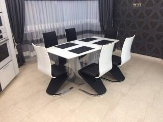 Стул K-194 Halmar Черно-белый